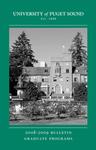 2008-2009 Graduate Bulletin