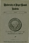 1909-1910 Bulletin by University of Puget Sound