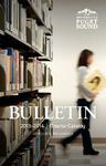 2013-2014 Graduate Bulletin