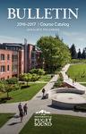 2016-2017 Graduate Bulletin