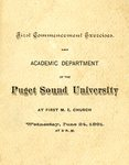 1891 Commencement 01 by University of Puget Sound