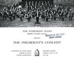 1967 The President's Concert, Symphony Band