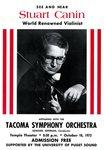 1972 Tacoma Symphony Orchestra feat. Stuart Canin