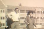 Basketball Players: November, 1967 on campus