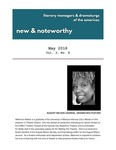 New & Noteworthy, volume 3, no. 8 by Literary Managers and Dramaturgs of the Americas