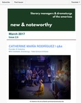 New & Noteworthy, volume 2, no. 6 by Catherine Maria Rodriguez, Megan McClain, and Ali Pour Issa