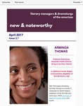 New & Noteworthy, volume 2, no. 7 by Arminda Thomas, Jeremy Stoller, Carlyn Aquiline, and Megan McClain