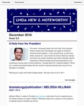 LMDA New & Noteworthy, volume 2, no. 3 by Ken Cerniglia, Melissa Hillman, Kelly Miller, and Charles Haugland