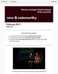 New & Noteworthy, volume 2, no. 5 by Jennifer Ashley Tepper, Jeremy Stoller, and Megan McClain