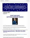 LMDA New & Noteworthy, volume 2, no. 4 by Melissa Hillman, Megan McClain, Joseph Cermatori, and Jeremy Stoller