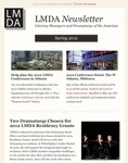 LMDA Newsletter by Literary Managers and Dramaturgs of the Americas
