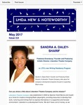 LMDA New & Noteworthy, volume 2, no. 8 by Sandra A. Daley-Sharif, Nicholas Rohlfing, Megan McClain, and Martha Wade Steketee