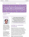 LMDA New & Noteworthy, volume 2, no. 1 by Ken Cerniglia, Megan McClain, Matt McGeachy, Diane Brewer, Jeremy Stoller, and Martha Wade Steketee