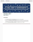 LMDA New & Noteworthy, volume 3, no. 1 by Raquel Almazan, Jenna Turk, Maegan Clearwood, Jack Spagnola, Diep Tran, and Gabriella Steinberg