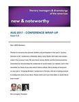 New & Noteworthy, volume 2, no. 9 by Ken Cerniglia, Vivian Chace, and Andrea Kovich