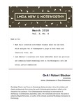 LMDA New & Noteworthy, volume 3, no. 6 by Robert Blacker, Mark Bly, Chava Kokhleffel, and L. E. Webster