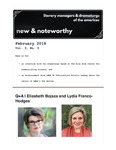 New & Noteworthy, volume 3, no. 5 by Elizabeth Bojsza, Lydia Franco-Hodges, and Kristin Leahey