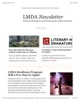 LMDA Newsletter, Volume 2, no. 3 by Literary Managers and Dramaturgs of the Americas