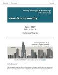 New & Noteworthy, June 2019