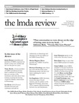 LMDA Review, volume 9, issue 1