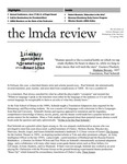 LMDA Review, volume 9, issue 2