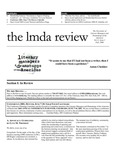 LMDA Review, volume 11, issue 1