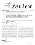 Review: The Newsletter of the Literary Managers and Dramaturgs of the Americas, volume 14, issue 2