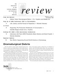 Review: The Newsletter of the Literary Managers and Dramaturgs of the Americas, volume 15, issue 1