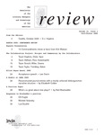 Review: The Newsletter of the Literary Managers and Dramaturgs of the Americas, volume 16, issue 1