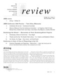 Review: The Newsletter of the Literary Managers and Dramaturgs of the Americas, volume 16, issue 2