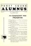 The Alumnus, 1935-05 by University of Puget Sound Alumni Association