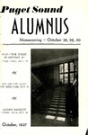 The Alumnus, 1937-10 by University of Puget Sound Alumni Association