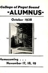 The Alumnus, 1938-10 by University of Puget Sound Alumni Association