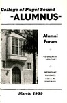 The Alumnus, 1939-03 by University of Puget Sound Alumni Association