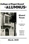 The Alumnus, 1939-03