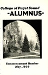 The Alumnus, 1939-05 by University of Puget Sound Alumni Association