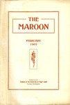The Maroon, 1905-02 by Associated Students of the University of Puget Sound