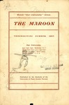 The Maroon, 1905-11 by Associated Students of the University of Puget Sound
