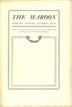 The Maroon, 1907-02 by Associated Students of the University of Puget Sound