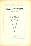 The Maroon, 1907-11 by Associated Students of the University of Puget Sound