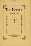 The Maroon, 1908-01 by Associated Students of the University of Puget Sound