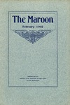The Maroon, 1908-02 by Associated Students of the University of Puget Sound