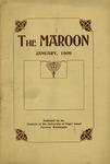 The Maroon, 1909-01 by Associated Students of the University of Puget Sound