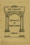 The Maroon, 1909-12 by Associated Students of the University of Puget Sound