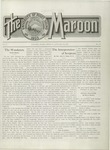 The Maroon, 1911-01-13