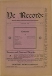 Ye Recorde, 1901-01 by Associated Students of the University of Puget Sound
