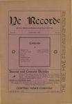 Ye Recorde, 1901-01