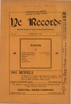 Ye Recorde, 1901-02 by Associated Students of the University of Puget Sound