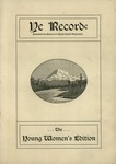 Ye Recorde, 1901-04 by Associated Students of the University of Puget Sound