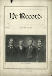 Ye Recorde, 1903-04 by Associated Students of the University of Puget Sound
